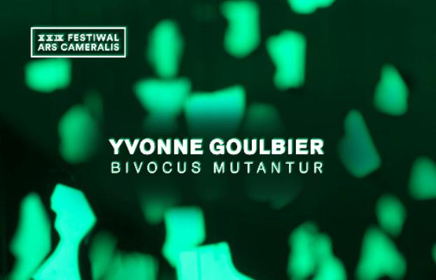 plakat wystawy artystycznej bivocus mutantur w muzeum górnośląskim