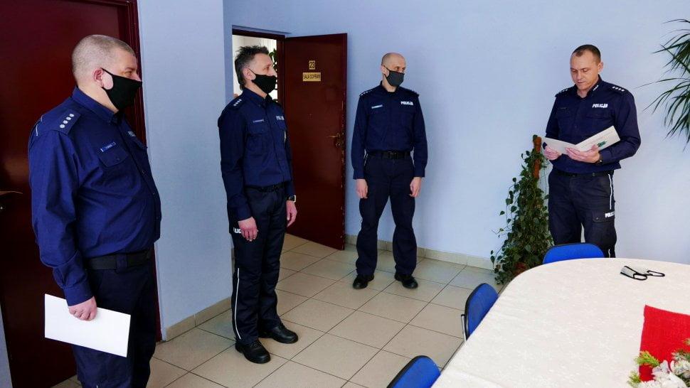 bytomskich komisariatach policji
