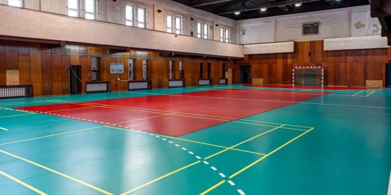 hali sportowej w Bytomiu