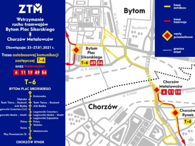 komunikacji tramwajowej