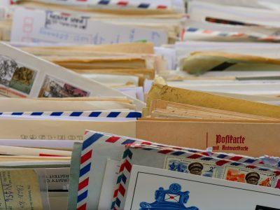 listy polecone bez znaczków