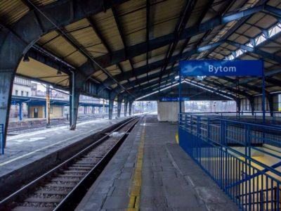 dworca kolejowego w bytomiu