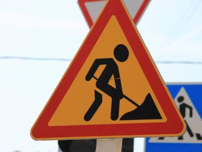 prace drogowe na granicy zabrza, rudy śląskiej i bytomia