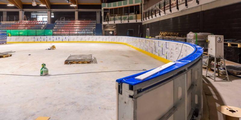 nowej hali lodowiska w bytomiu