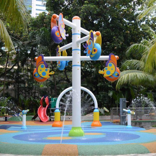 wodny plac zabaw