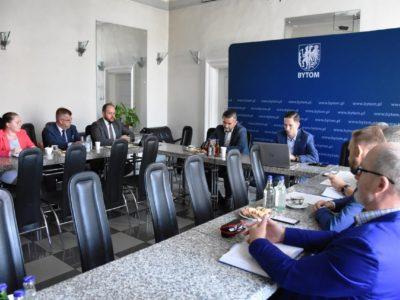 spotkanie w sprawie uruchomienia terenów inwestycyjnych