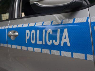 policja / potrącenie w bytomiu