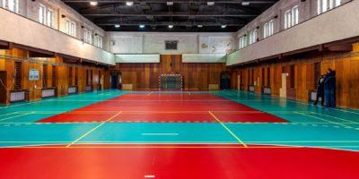 remontu hali sportowej przy ulicy Strzelców Bytomskich